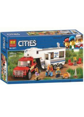 Конструктор BELA Cityes Дом на колесах 10871