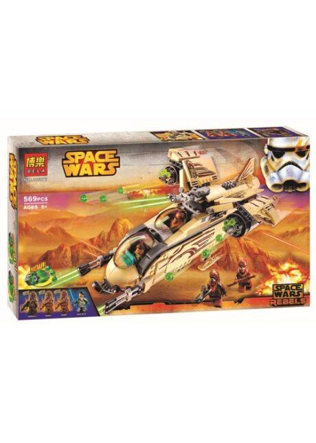Конструктор Space Wars Боевой корабль Вуки 10377 569 деталей