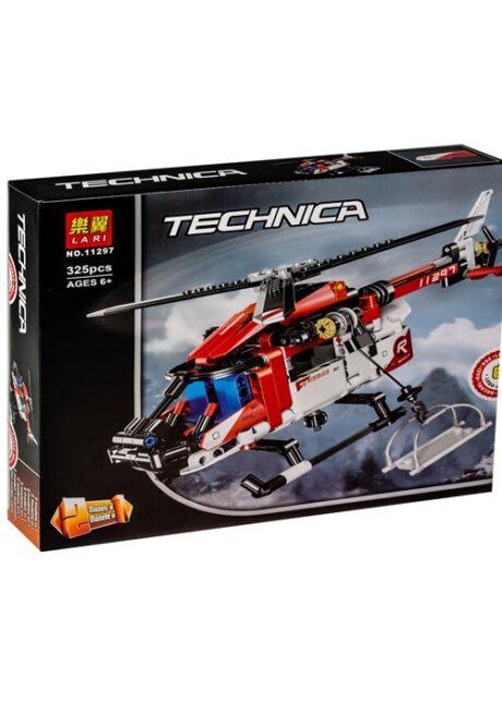 Спасательный вертолёт и подарок