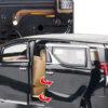 машинка модель Lexus Лексус LM300h 21 см металл