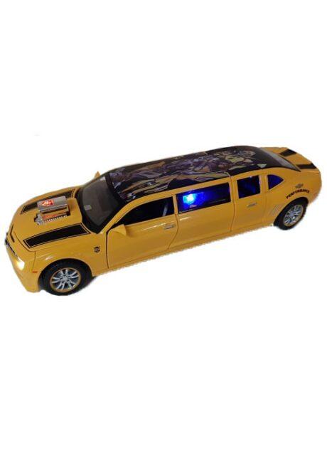 Машинка железная модель Chevrolet Camaro лимузин 23 см